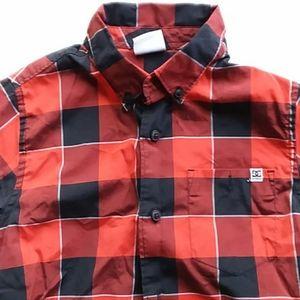 Dc red plaid shirt